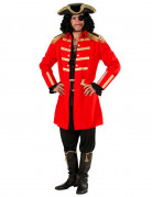 D�guisement capitaine pirate rouge homme