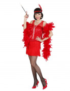 Disfraz de charlest�n rojo