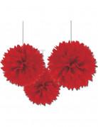 D�corations � suspendre boule rouge