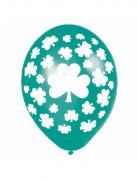 Vous aimerez aussi : 6 ballons verts tr�fles Saint Patrick