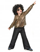 Vous aimerez aussi : D�guisement disco gar�on paillettes or