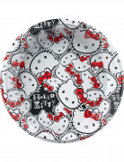 8 Assiettes plastique Hello Kitty fun�