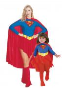 Supergirl�-Paarkost�m f�r Mutter und Tochter
