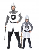 D�guisement couple chevalier p�re et fils