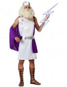 Lila-wei�es Zeus-Kost�m f�r Herren