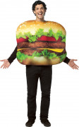 Hamburger-Kost�m f�r Erwachsene