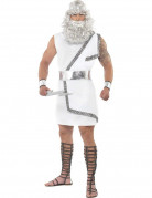 Wei�es Zeus-Kost�m f�r Herren