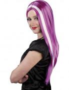 Vous aimerez aussi : Perruque violette m�ches blanches femme
