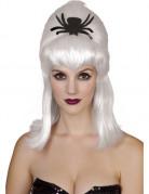 Peluca blanca ara�a mujer