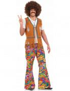 Pantalon psych�d�lique hippie homme