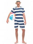 D�guisement baigneur bleu ann�e 20 homme