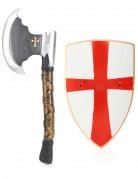Kit de chevalier bouclier et hache
