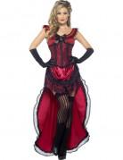 Vous aimerez aussi : D�guisement danseuse saloon sexy rouge femme