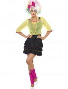 Disfraz a�os 80 pop mujer