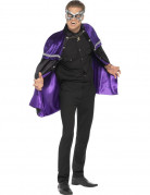 Cape violette adulte Halloween