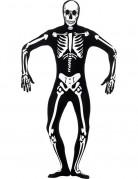 D�guisement seconde peau squelette adulte Halloween