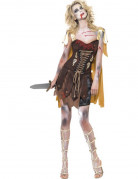 D�guisement zombie gladiateur sexy femme Halloween