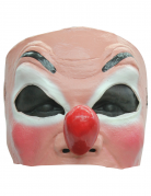 Demi masque clown adulte
