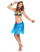 Vous aimerez aussi : Jupe hawa�enne courte bleue adulte