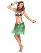 Vous aimerez aussi : Jupe hawa�enne courte verte adulte