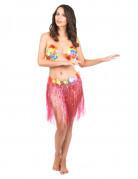 Vous aimerez aussi : Jupe hawa�enne courte rose adulte