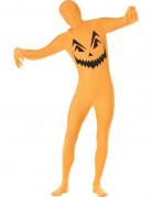Hautenges Halloween K�rbis-Kost�m f�r Erwachsene