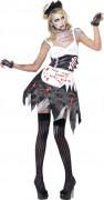D�guisement zombie soubrette sexy femme Halloween