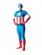 Hautenges Captain America™-Kost�m f�r Erwachsene