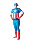 D�guisement seconde peau Captain America� adulte