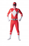 Hautenges Power Rangers™-Kost�m f�r Erwachsene