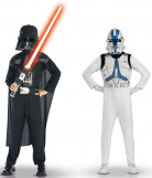D�guisements Dark vador et Clone trooper Star wars� enfant
