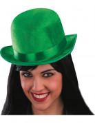Sombrero bomb�n verde Adulto