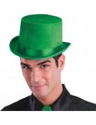 Sombrero de copa de gala verde adulto
