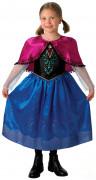 Disfraz de Anna Frozen La Reina de las Nieves�  de lujo ni�a