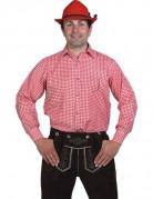 Chemise � carreaux homme