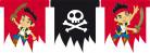 Vous aimerez aussi : Guirlande fanions Jake et les pirates�