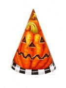 Vous aimerez aussi : Lot 6 chapeaux citrouille en carton Halloween