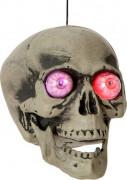 T�te de mort avec lumi�re