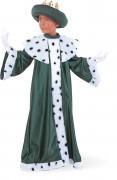 Disfraz de Rey Mago Baltasar infantil