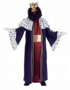 Disfraz de Rey Mago Gaspar lujo