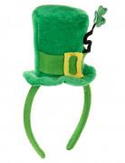 Mini sombrero con tr�bol San Patricio