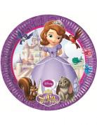 8 pratos Princesa Sofia�