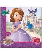 20 guardanapos Princesa Sofia�