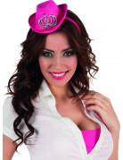 Anche ti piacer� : Mini cappello rosa Adulto