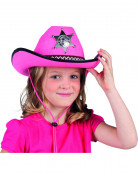 Ihnen gefällt sicherlich auch : Rosa Sheriff-Hut f�r Kinder