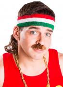 Ihnen gefällt sicherlich auch : Vokuhila Stirnband gr�n wei� rot Mulletonthego�