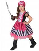 D�guisement pirate rose fille