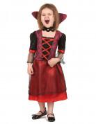 Disfraz de vampiro rojo ni�a