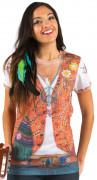 Ihnen gefällt sicherlich auch : 60er Jahre Hippie T-Shirt f�r Damen