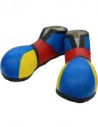 Chaussures de clown bleu
